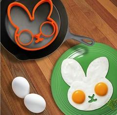 BOSA 2 Pcs/Set Egg Fried Mould Funny Side Up Frying Pancake Mold 2 pcs/set normal