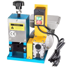 Portable electric wire stripping machine metal tool scrap cable stripper