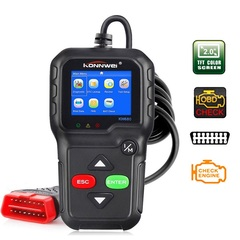 KW680 OBD2 OBDII scanner car code reader diagnostic engine fault scanning tool