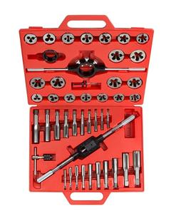 SAE tap and mold tool kit tap and die set tool hardware