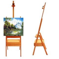French Easel Art Wooden Sketch Box Portable Artist Painters Tripod Stand Display ordinary