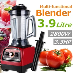 3.9L 2800W commercial high speed mixer juicer food smooth ice cream mixer ordinary 25*28*61