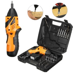45-in-1 rechargeable wireless electric screw driver drill kit power tool ordinary