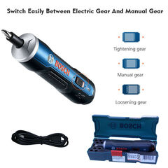 BOSCH 3.6V Mini Handheld Smart Electric Screwdriver Tool Gear Adjustable Torque