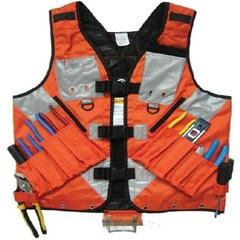 Electrician Carpenter Framer Plumber Craftman Construction Pouch Bag Tool Vest as shown