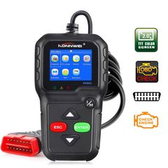 KW680 OBD2 OBDII Scanner Car Code Reader Diagnostic Engine Failure Scanning Tool Eight Languages ordinary