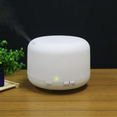 500ml colorful warm light classic humidifier aromatherapy oil mute night light White 500ML Colorful Colorful 500ml