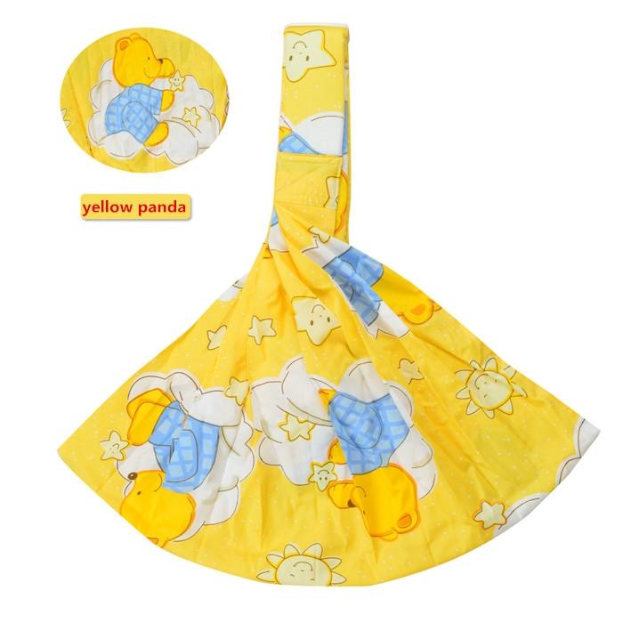 Baby sling front holding type multifunctional stool newborn baby Wrap orange normal