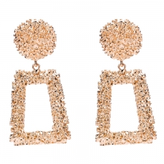 Sexy exaggeration geometric earrings women Bohemian national wind restoring ancient ways golden all
