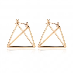 2018 in Europe and the geometric earring cool earrings deserve to act the role of female personality golden as  picture