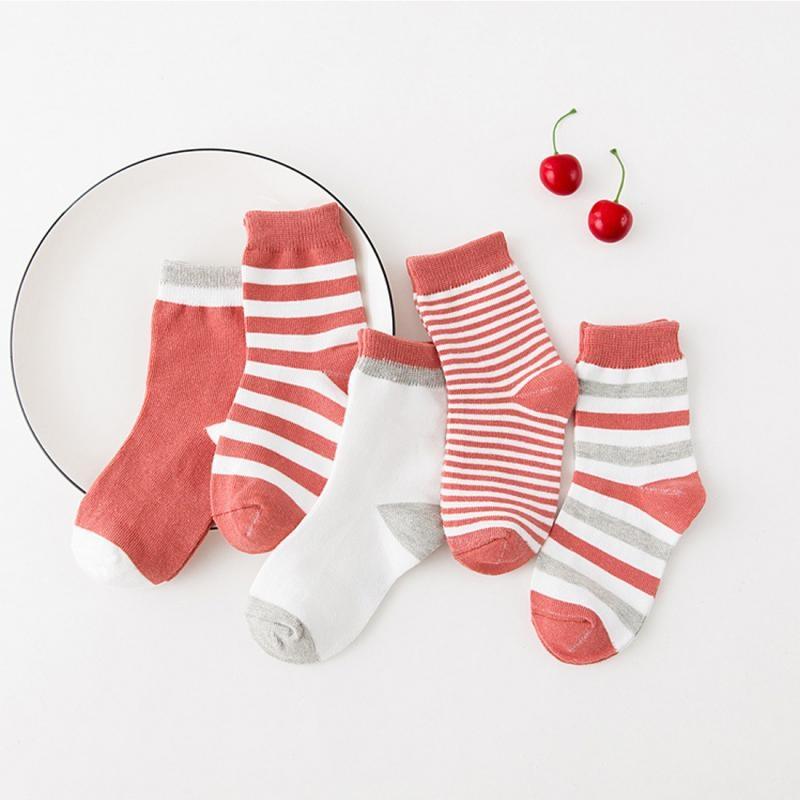 quan di 5 pairs Unisex Baby Infant Thick Warm Socks