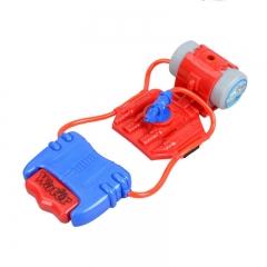 Kids Toys Gifts Children Summer Beach Toys Educational Water Fight Pistol Wrist Water Guns red 23.5*8.5*5.5cm