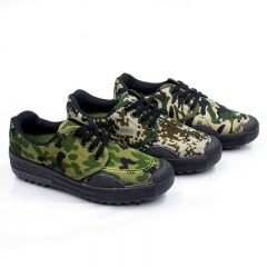Men's Shoes liberation shoes Outdoor working shoes Camouflage shoes black 38