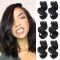 BHF Peruvian Body Wave Virgin Hair 4 Bundles 100% Human Hair Extensions 8-14