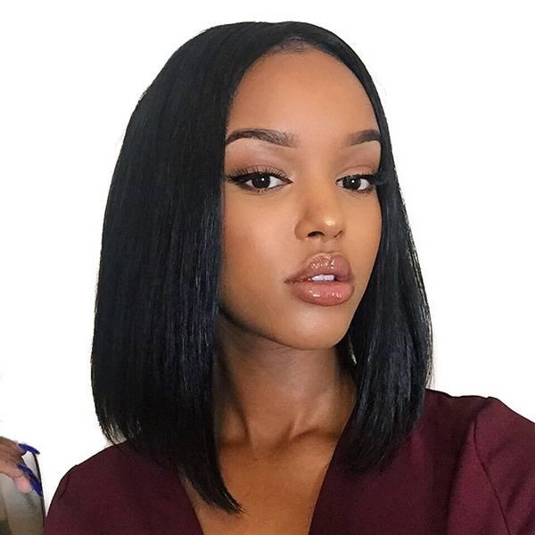 "8A Unprocessed Peruvian Virgin Straight Hair 3 Bundles Double Weft 8""-24"" Human Hair Bundles 50g/pcs Natural Color 8 8 8"