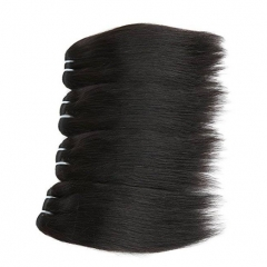 Indian Virgin Hair Straight 3 Bundles 50g/pc Human Hair Weave Extension Natural Color Can Be Dyed natural color 8 8 8