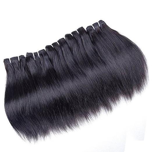 """Brazilian Straight Hair 3 Bundles 8-24"""" 8A Unprocessed Human Hair Weave Bundles Nature Color 50g/pcs natural black 10 10 10"""