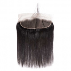 BHF 9A Brazilian Straight Hair 13*4 Lace Frontal Closure With Baby Hair 100% Human Hair Lace Closure Natural Color 10