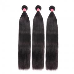 BHF Brazilian Virgin Straight Hair 3 Bundles 8