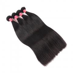Brazilian Body Wave Bundles 10pcs 100% Human Virgin Hair Weave Bundles Natural Black Hair Extensions natural color 8
