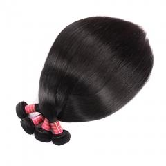 100% Human Virgin Hair 10 Bundles Malaysian Straight Hair Bundles 8