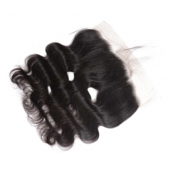BHF Indian Body Wave Lace Frontal 13X4 Ear To Ear Virgin Human Hair Closure Natural Color 8-20Inch natural color 8