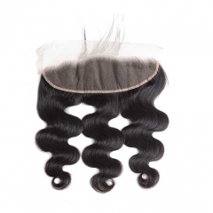 BHF Peruvian Body Wave Lace Frontal Closure 100% Human Hair 13*4 Lace Closures 8-20