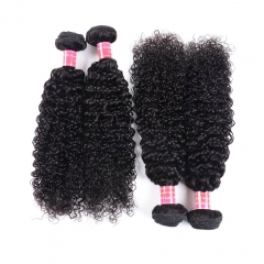 BHF Afro Kinky Curly Hair Brazilian Hair Weave Bundles 9A Unprocessed Virgin Hair 4 Bundles 8