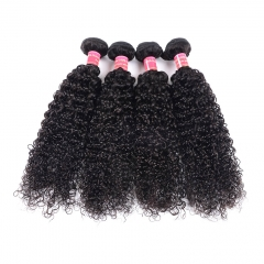 BHF Mongolian Afro Kinky Curly Hair 3 Bundles Deal 100% Unprocessed Human Hair Weave Bundles No Shed natural color 16 18 20