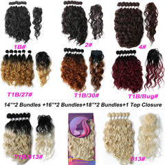 BHF Synthetic Natural Wave Hair Bundles 14-18
