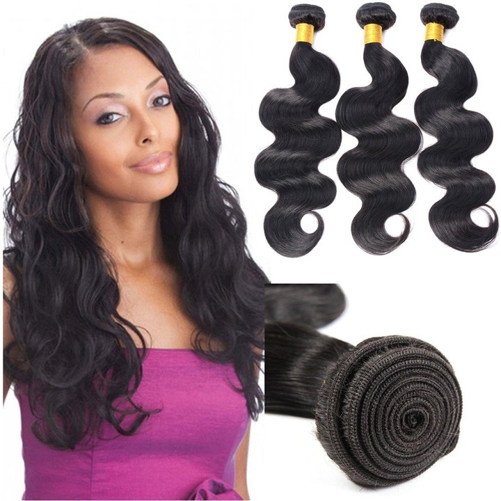 BHF Virgin Hair 4 Bundles Unprocessed Human Hair Body Wave Hair Weft Extinsion 100g/pc Wet and Weave