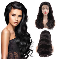 BHF  13x4 Ear to Ear Lace Frontal Wigs Human Hair Wigs Body Wave Glueless Lace Front Human Hair Wigs natural color 10