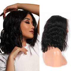 BHF Synthetic Wigs New Fashion Natural Wave Wigs Women Wigs Shoulder Length For African Women black 14