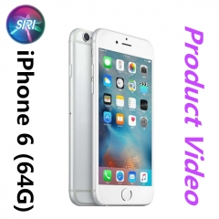 iPhone 6 -64GB+1GB -8 MP- 4.7 Inch+4G network 99% new mobile phones Used silver