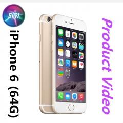 Refurbished Phone : iPhone 6 -64GB+1GB -8 MP- 4.7 Inch+4G network gold