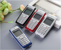 Nokia 1110 mobile phone approved for old people cheap gift mobile phone backup mobile phone red