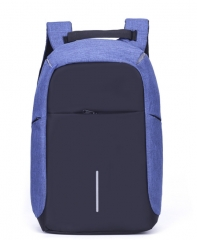 Third Generation USB Charge Anti Theft Backpack 15inch Laptop Backpacks Fashion Bags Bagpack Blue 15inch