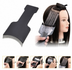 Professional Hairdressing Hair Applicator Brush Dispensing Hair Coloring Dyeing Pick Color Board Black One size
