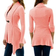 Fashion hot sells sweaters  women's sweaters  coat for women pink s