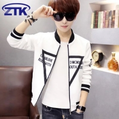 Trend of the thin type of personality triangle adolescent youth fashion men's sportswear A white triangle xl