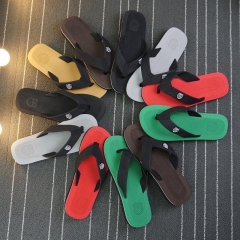 Men's Shoes Slippers Men Flip-Flops Causal Slippers Daily Wear Shoes Light Slippers black 42