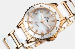 Watch Women golden Watches Ladies Ceramics Jewellery Casual Smart  Steel Jewelry watch for female white/gold