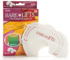 Adhesive Disposable bare instant breast lift sets for party health beauty red