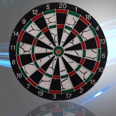 Dart Plate Security Safe Soft 17 Inch Darts Plate Board Club House/ Family Entertainment Target Black 17 inches