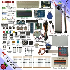 RFID Starter Kit for Raspberry Pi | Beginner Learning | Model 3B+ 3B 2B 1B+ 1A+ Zero White Same