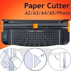 Paper Photo Cutter A5 A4 A3 A2 Trimmer Ruler Guillotine Cutting Multifunction black Paper cutter