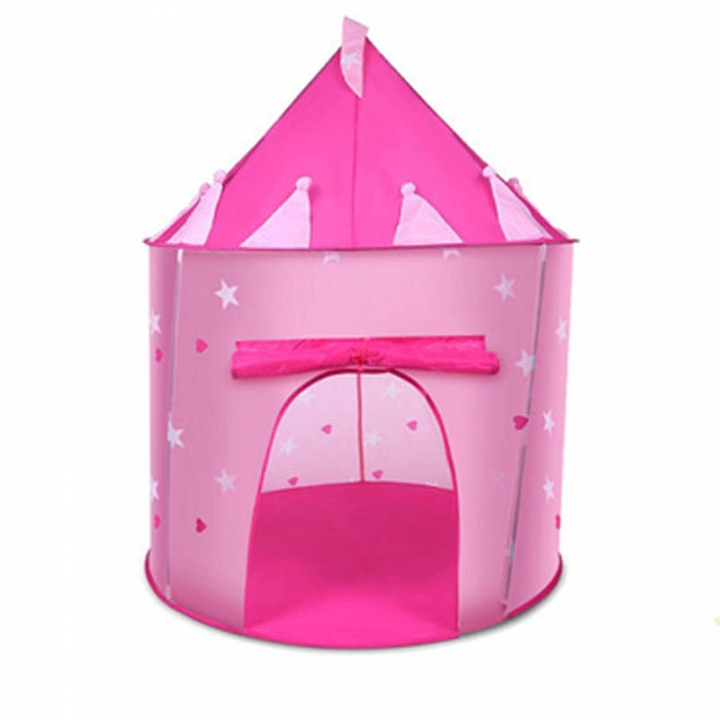 Baby Kids Play Tent Portable Foldable Children Castle Cubby Play House Kids Gifts Outdoor Toy Tents Pink2 One Size