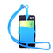 Detachable Silicone Lanyard Case Cover Holder Sling Necklace Wrist Strap for Cell Phone random color one size