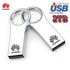 Limited Explosion Promotion in 2019, 20 pieces of price reduction, Huawei USB 2TB Flash Drive Silver Huawei 2TB usb flash disk 2tb(1900gb)
