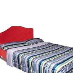 4pcs set Stripped multi- colored duvet stripped multi colored 180x220x1